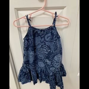 Baby GAP midnight blue dress